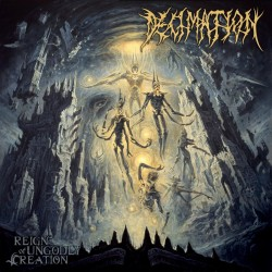 """Decimation - """"Reign of Ungodly Creation"""" CD"""