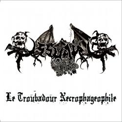 """Ossuaire - """"Le Troubadour Necrophageophile"""" CD"""