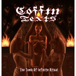 """Coffin Texts - """"The Tomb of Infinite Ritual"""" CD"""